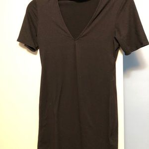 Tobi Black Dress.  With Built in Collar
